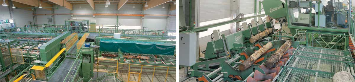 Primultini - Machines and equipment for saw mills
